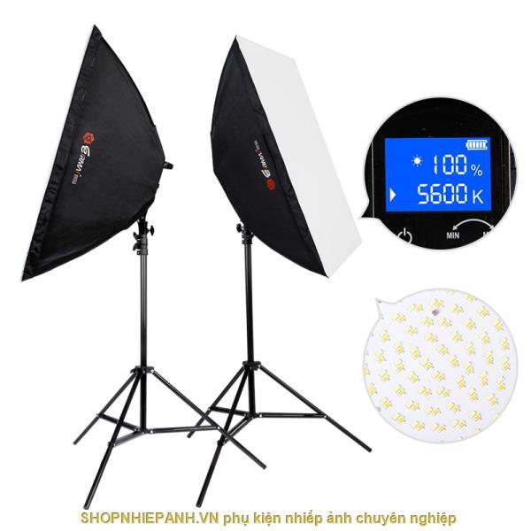 thumbnail Combo Kit Đèn LED livestream Eirmai YD601 (chỉnh nhiệt độ màu)