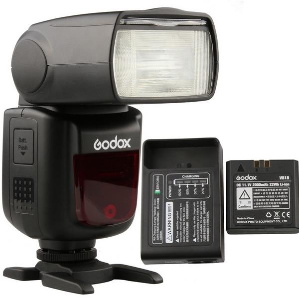 thumbnail Flash Godox V860II TTL for Canon (Kèm Pin Và Sạc)