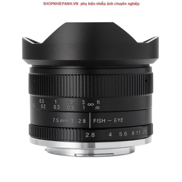 thumbnail Lens 7ARTISANS 7.5mm F2.8 II Fisheye for FX