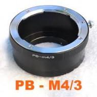 mount praktica PB-M4/3