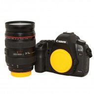 Multi-Color Cap body và lens for Canon-Nikon độc đáo