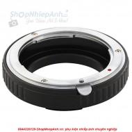 mount Nikon-Sony A (bị cận)