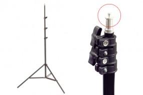 Chân đèn 2m-ốc vặn inox