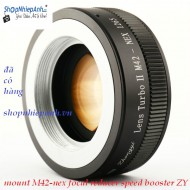mount M42-Nex focal reducer booster ZhongYi