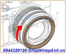 Ring adapter for canon G1X mark II