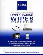 giấy lau lens Carl Zeiss lens wipe 1 miếng (original)