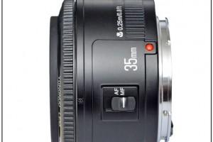 Lens Yongnuo 35F2 for Canon EOS