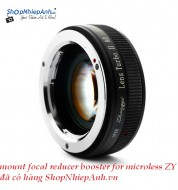 mount focal reducer booster ZhongYi for Fujifilm FX