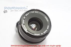 Canon FD 35f3.5 S.C