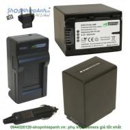 Combo 2 viên pin và sạc WASABI FV100 FP100 FV50 for sony camera