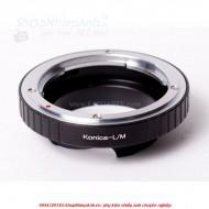 mount Konica AR-Leica M