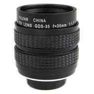 Combo lens cctv Fujian 35 F 1.7