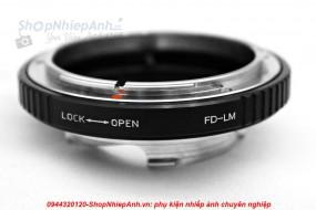 mount FD-Leica M