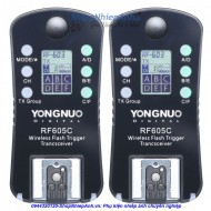 Trigger Yongnuo 605 LCD digital