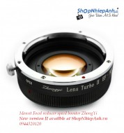 mount focal reducer booster ZhongYi for E-mount