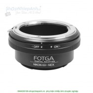 mount Nikon G-NEX FOTGA (lens AF-S nikon)