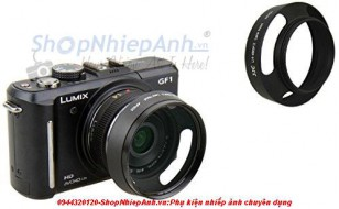 Hood for Panasonic lumix (14f2.5, 20f1.7)