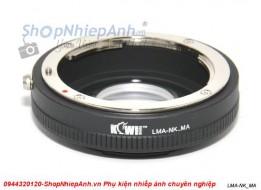 mount Nikon-Sony A (Kiwi brand)