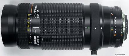Nikon AF 75-300f4.5-5.6 cực đẹp