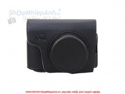 Bao da Fujifilm X100 series (black/brown)