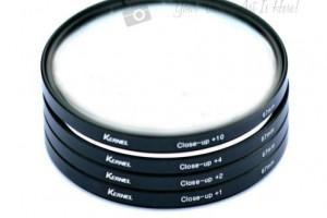 Filter Close up macro +4