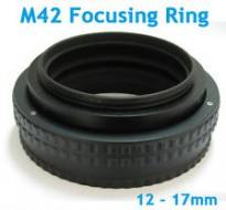 M42-M42 12-17mm extentable mount