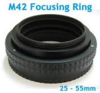 M42-M42 25-55mm extentable mount