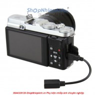 Sync cord adapter for fujifilm RR80-RR90