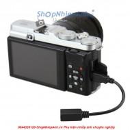 Sync cord adapter for fujifilm RR80-RR90