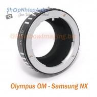mount olympus OM-samsung NX