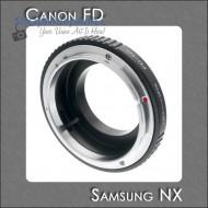mount canon FD-samsung NX