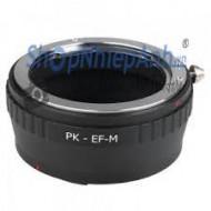 mount pentax PK-eos M (ef M)