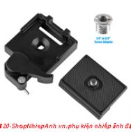 đế tripod combo quick plate (loại khóa gài)