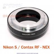 mount Contax RF-nex (nikon S, Kiev)