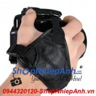 Hand strap trợ lực triangle (da thật)