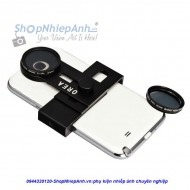 Combo filter CPL+holder for smartphone