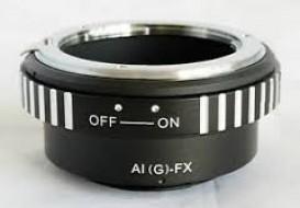 mount nikon G-FX (lens nikon AF-S G)