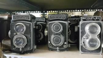 Lô máy ảnh film TLR