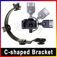 gắn đèn Flash Bracket C-2