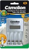 Máy sạc pin thông minh Camelion 1012 có màn hình lcd