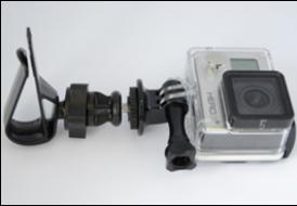 GP154 Thiết bị gắn xe đạp action camera