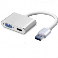Adapter USB 3.0 to HDMI VGA U02