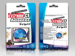 adapter SD to CF type II