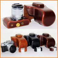Bao da+dây da for Fujifilm X-T10 X-T20 X-E3