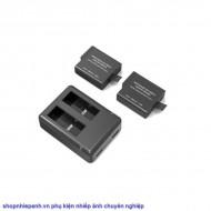 Bộ 2 pin và sạc kép RAVpower for Gopro 5 6 7 8