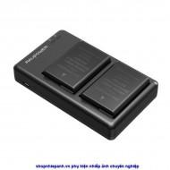 Bộ 2 pin và sạc kép RAVpower for Nikon EN-EL14 D3xxx D5xxx Df P7xxx