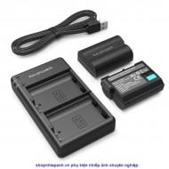 Bộ 2 pin và sạc kép RAVpower for Nikon EN-EL15 D7xxx D8xx D7xx D6xx D5xx