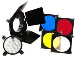 Bộ Barndoor Honeycom Kèm 3 Filter Màu