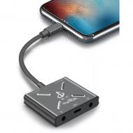 Bộ chuyển đổi Livestream Lightning Iphone đa năng vừa sạc vừa live