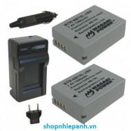 Bộ pin sạc Li-on cho Canon NB-10L G1X G3X G15 G16 SX40 SX50 SX60